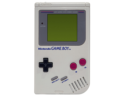 Photo of a Nintendo GameBoy courtesy of Wikipedia.org